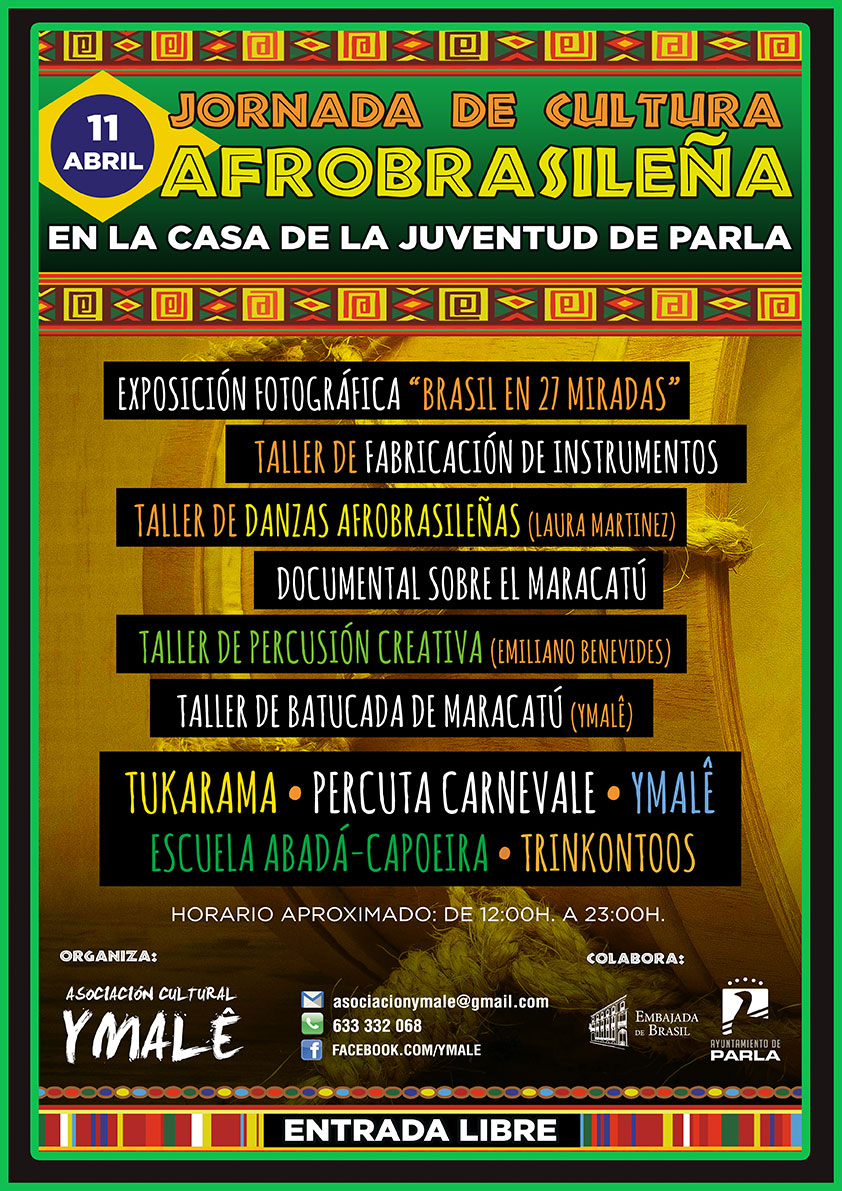 jornada de cultura afrobrasileña en Parla