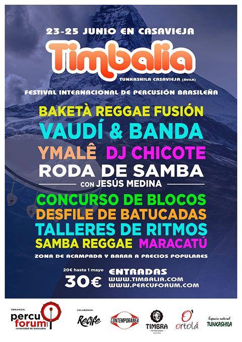 Cartel Timbalia 2017