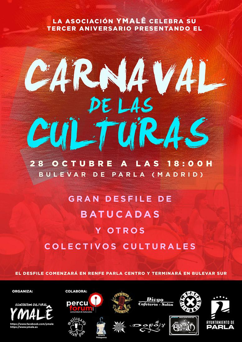Carnaval de las Culturas en Parla - Madrid