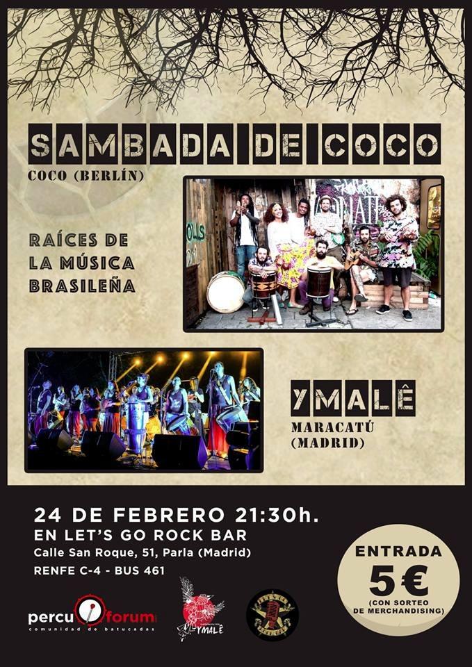 Concierto Ymalê + Sambada de Coco